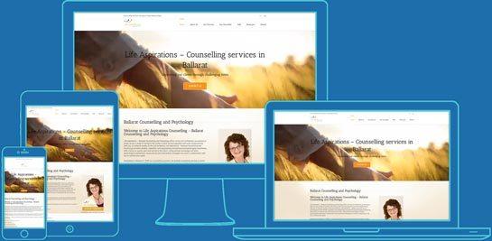 Responsive website - San Diego