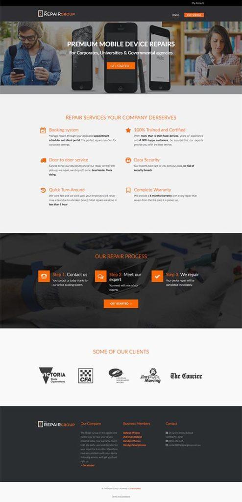 Web Design - San Diego - iPhone Repairs
